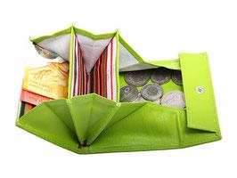 Überschlag Portemonnaie Nr.1704 - Apfelgrün