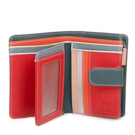 390-122 Medium 10 C/C Wallet w/Zip Purse - Urban Sky
