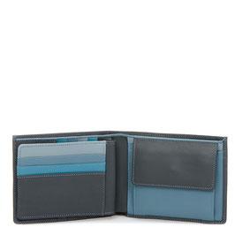 136-82 Large Men's Wallet - Smokey Grey