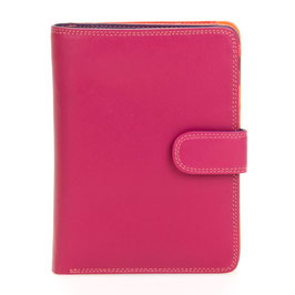 229-75 Large Snap Wallet - Sangria