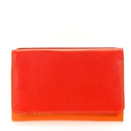 363-12 Medium Tri-fold Wallet w/Outer Zip Purse - Jamaica