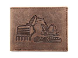 Portemonnaie Nr. 2014 mit Bagger Prägung