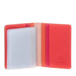 131-24 Credit Card Holder w/Plastic Inserts - Candy