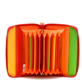 328-12 Zipped Credit Card Holder - Jamaica