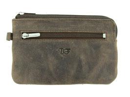 Grosses Schlüsseletui mit Reisverschluss Nr.5109 - Braun