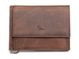 Dollarclip Portemonnaie Nr.4101 Braun