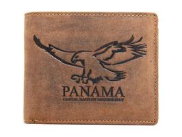 Greenburry Vintage Geldbörse mit Panama Prägung - 2702-25 Braun