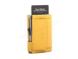 SecWal Kreditkartenetui -Gelb
