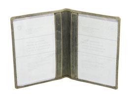 Greenburry Vintage - Ausweisetui - Olivgrün