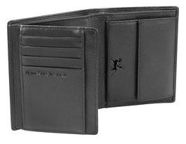 """Mano """"Certo"""" - Hochformatbörse mit 8 Kartenfächer und RFID Schutz"""