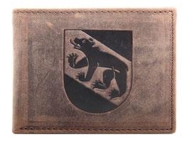 Portemonnaie mit Berner Wappen Prägung