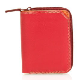 226-18 Small Wallet with Zipround Purse - Berry Blast