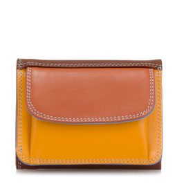 243-121 Small Tri-Fold Wallet - Siena
