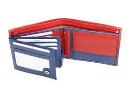 Portemonnaie Nr.3101 -  Rot / Blau