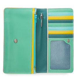 237-129 Medium Matinee Purse Wallet - Mint