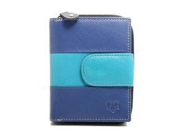 Portemonnaie Nr.3548 - Multicolor Blau