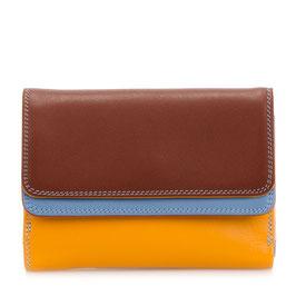 250-121 Double Flap Purse / Wallet - Siena