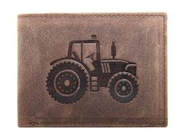 Portemonnaie mit Traktor 3 Prägung