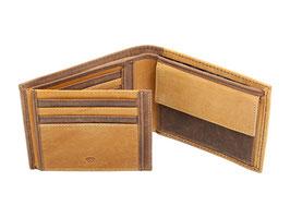Portemonnaie Nr.3019 - Multicolor Braun