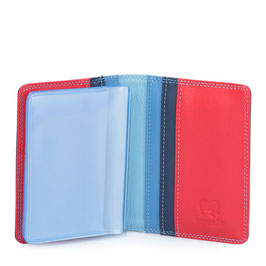 131-127 Credit Card Holder w/Plastic Inserts - Royal