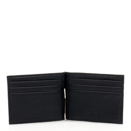 137-3 Mywalit Money Clip Wallet - Black