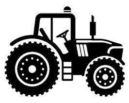 Läsergravur Traktor-3