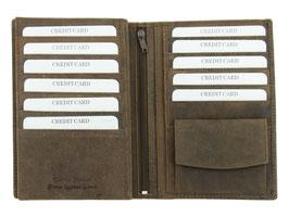 Brieftasche - Nr.4701 Braun