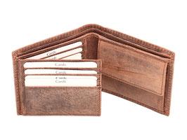 Portemonnaie - Nr.2013 - Antikbraun