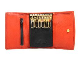 Lasini Roma Schlüsseletui mit 8 Schlüsselhäckchen