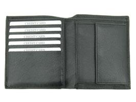 Portemonnaie Hochformat Nr.3313 Schwarz