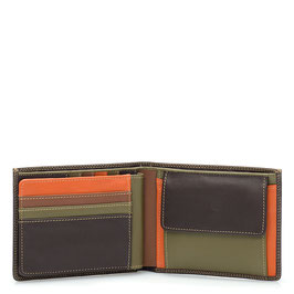 136-72 Large Men's Wallet - Safari Multi