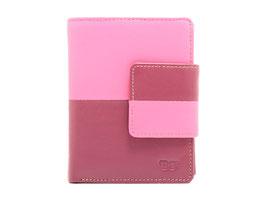 Damenportemonnaie Nr.3401 RFID - Fuchsia-Pink