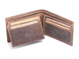 Greenburry kompaktes Kreditkartenetui 1661 Antikbraun