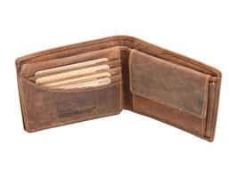 Greenburry Vintage Herrenportemonnaie 1705-25 Antikbraun