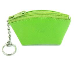 Schlüsseletui / Münzbeutel - Apfelgrün