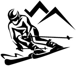 Läsergravur Ski-1