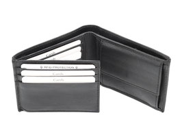 Portemonnaie Nr.2014 RFID Schwarz