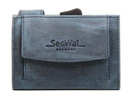 SecWal Kreditkartenetui - Hunter Blau