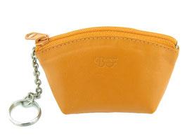 Schlüsseletui / Münzbeutel - Orange