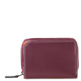 226-136 Small Wallet with Zipround Purse - Chianti