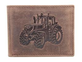 Portemonnaie mit Traktor Prägung