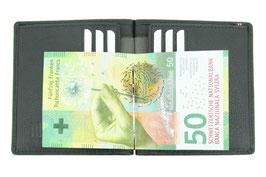 Mano - Medio - Dollarclip / Notenclip-Portemonnaie ohne Münzfach