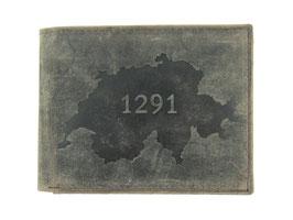 """Portemonnaie mit 1291 Prägung """"Nr.2014"""""""