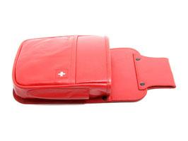 Kellnertasche - Rot mit Schweizerkreuz