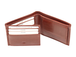 Portemonnaie Nr.2014 RFID Dunkelbraun