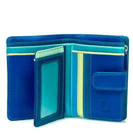 390-92 Medium 10 C/C Wallet w/Zip Purse - Seascape