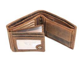 Greenburry Vintage Herrenportemonnaie - 1796-25 Antikbraun