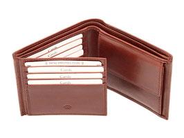 Portemonnaie - Nr.2013 RFID - Dunkelbraun