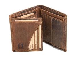 Greenburry Vintage Geldbörse 1701 Antikbraun