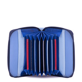 328-127 Zipped Credit Card Holder - Royal